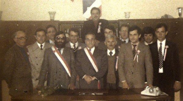Conseil Municipal en 1977